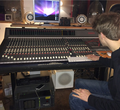 Cory Flynn - recording at Reservoir Studios